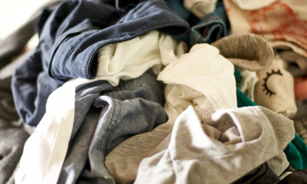 Wearing Untidy, Unlaundered Clothes